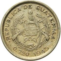 錢幣 > 10分, 1925-1949 - 瓜地馬拉  - obverse