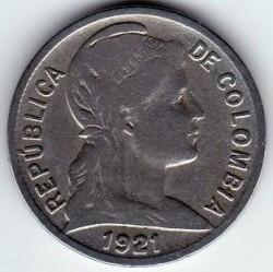 Moneta > 2centavos, 1918-1947 - Colombia  - obverse