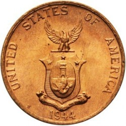 Moneda > 1 centavo, 1937-1944 - Filipinas  - obverse