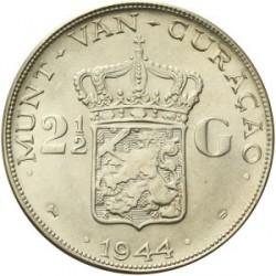 錢幣 > 2½盾, 1944 - 古拉索  - reverse