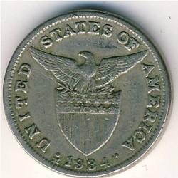 Monēta > 5sentavo, 1934 - Filipīnas  - reverse