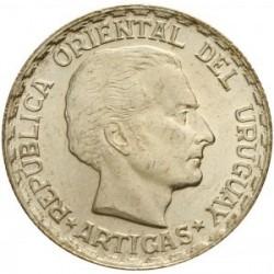 Moeda > 50centésimos, 1943 - Uruguai  - obverse