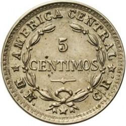 Монета > 5сентимів, 1942 - Коста-Ріка  (Мідно-нікелевий сплав /сірий колір/) - reverse
