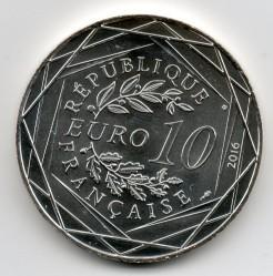 Coin > 10euro, 2016 - France  (Lyon) - obverse