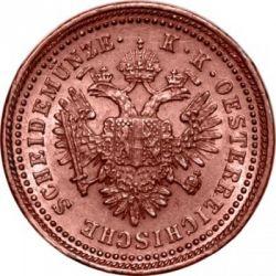 Moneda > 1kreuzer, 1851 - Àustria  - reverse