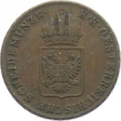 Монета > 1крейцер, 1816 - Австрія  - obverse