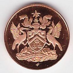 Monedă > 1cent, 1973 - Trinidad și Tobago  (1 w/o underscore) - obverse