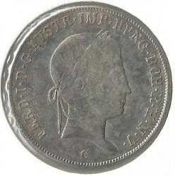 Monedă > 20сreițari, 1837-1848 - Austria  - obverse