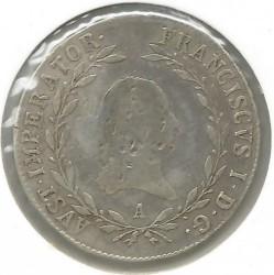 Монета > 20крейцерів, 1817-1824 - Австрія  - reverse