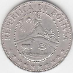 Mynt > 50centavos, 1965-1980 - Bolivia  - obverse