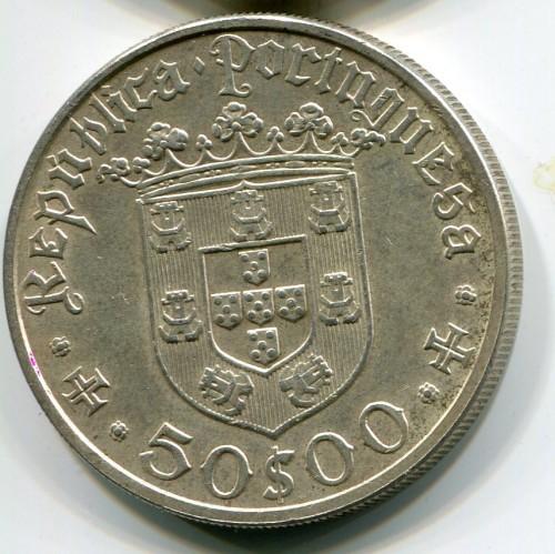50 Escudos 1968 Pedro Alvares Cabral Portugal Münzen Wert