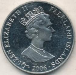 Moneta > 1corona, 2006 - Falkland (Isole)  (Horatio Nelson) - obverse