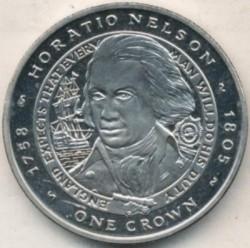 Moneta > 1corona, 2006 - Falkland (Isole)  (Horatio Nelson) - reverse