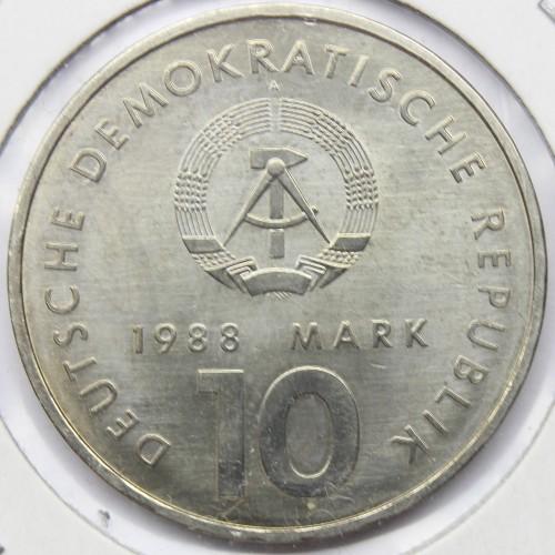 10 Mark 1988 Ddr Sport Deutschland Ddr Münzen Wert Ucoinnet