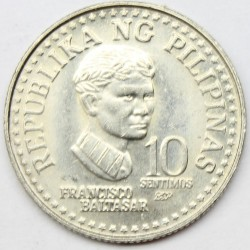 Moneta > 10sentimos, 1979-1982 - Filippine  - obverse