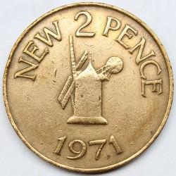 Moneta > 2naujiejipensai, 1971 - Gernsis  - reverse