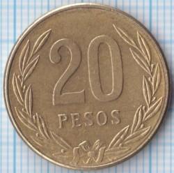 Moneda > 20pesos, 1982-1989 - Colòmbia  - reverse