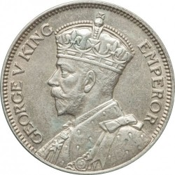 Moneda > 1chelín, 1934-1936 - Fiji  - obverse