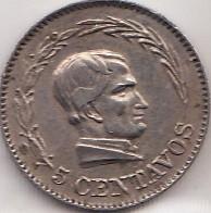 سکه > 5سنتاوو, 1924 - اکوادور  - reverse