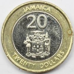 Coin > 20dollars, 2008-2017 - Jamaica  - obverse