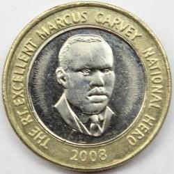 Coin > 20dollars, 2008-2017 - Jamaica  - reverse