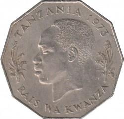 Moneta > 5szylingów, 1972-1980 - Tanzania  - obverse