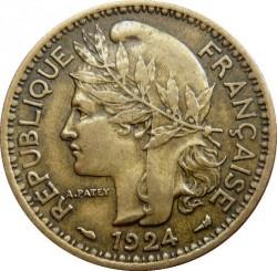 Монета > 1франк, 1924-1925 - Того  - obverse