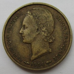 Монета > 5франков, 1956 - Того  - obverse