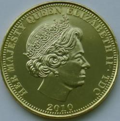 Moneta > 1korona, 2010 - Tristan da Cunha  (Bohaterowie Wielkiej Brytanii - Winston Churchill) - obverse