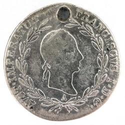 سکه > 20کرویزر, 1829-1830 - اتریش   - obverse