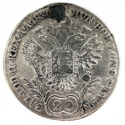 سکه > 20کرویزر, 1829-1830 - اتریش   - reverse
