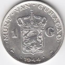 Монета > 1гульден, 1944 - Кюрасао  - reverse