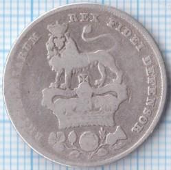 Moneda > 1chelín, 1825-1829 - Reino Unido  - reverse
