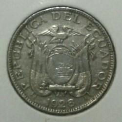 Moneda > 10centavos, 1928 - Ecuador  - obverse