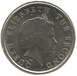 Νόμισμα > 10Σέντς, 2009-2014 - Ανατολική Καραϊβική  - reverse