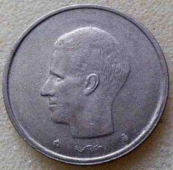 """Minca > 20francs, 1992 - Belgicko  (Nadpis v holandčine - """"BELGIE"""") - reverse"""