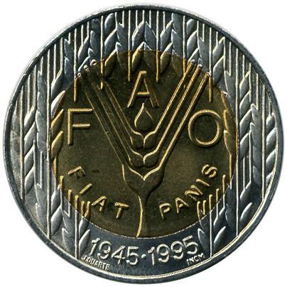 Portugal 100 Escudo 1995 FAO #5702