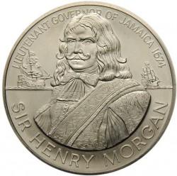 Moneta > 10dollari, 1974 - Giamaica  ( Sir Henry Morgan) - reverse