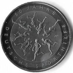 Moeda > 20euro, 2017 - Alemanha  (50th Anniversary - German Sports Aid Foundation) - reverse