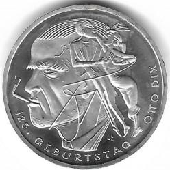 Moeda > 20euro, 2016 - Alemanha  (125th Anniversary - Birth of Otto Dix) - reverse