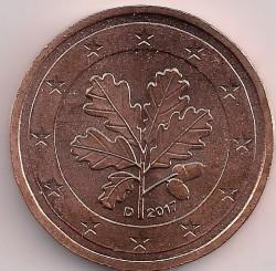 Moneda > 2céntimos, 2017 - Alemania  - obverse