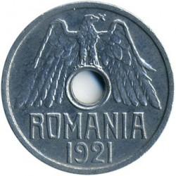Pièce > 50bani, 1921 - Roumanie  - obverse