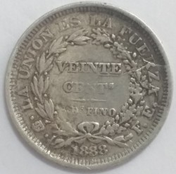 Münze > 20Centavos, 1885-1907 - Bolivien  - reverse
