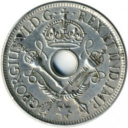 Moneda > 1chelín, 1938-1945 - Nueva Guinea  - obverse