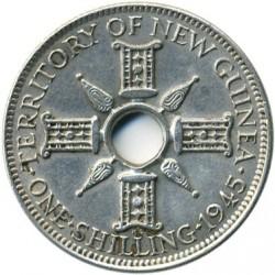 Moneda > 1chelín, 1938-1945 - Nueva Guinea  - reverse