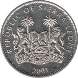 Moneta > 1dollaro, 2001 - Sierra Leone  (I grandi cinque) - obverse