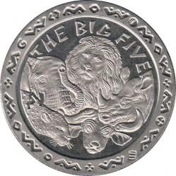 Moneta > 1dollaro, 2001 - Sierra Leone  (I grandi cinque) - reverse