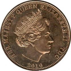 Moneta > 1korona, 2010 - Tristan da Cunha  (Windsorowie - Jubileusz monarchii ) - obverse