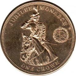 Moneta > 1korona, 2010 - Tristan da Cunha  (Windsorowie - Jubileusz monarchii ) - reverse
