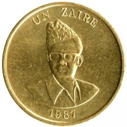 Монета > 1заир, 1987 - Заир  - obverse